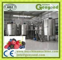 Raspberry juice production line / Raspberry juice production plant
