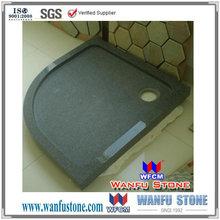 Granite stone shower trays