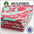Voile impreso 100% de algodón plumas de pavo real de la tela