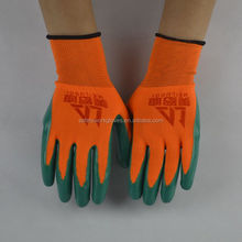 13GUAGE ZEBRA POLYESTER SHELL COATED NITRILE GLOVES SMOOTH FINISH WORK WORKING LABOR