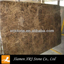 Hot Sell polished brown Marble Slab Price