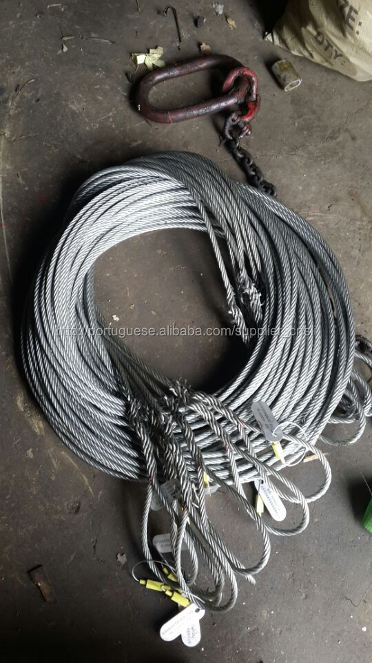 Safety Rope Wire,Lifting Cable Sling Size And Capacity Chart - Buy ...