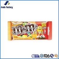 heat seal plastic candy bag/snack packaging/yogurt & fruit candy bag