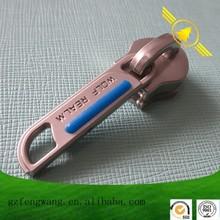 Various zipper sliders custom pull