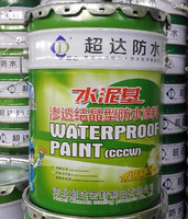 High Quality Cementitious Capillary Crystalline Waterproofing