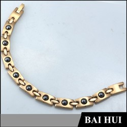 2015 New Designs Stainless stell Bracelet Chain For Men/Wholesale Gold Bracelet Hand Chain