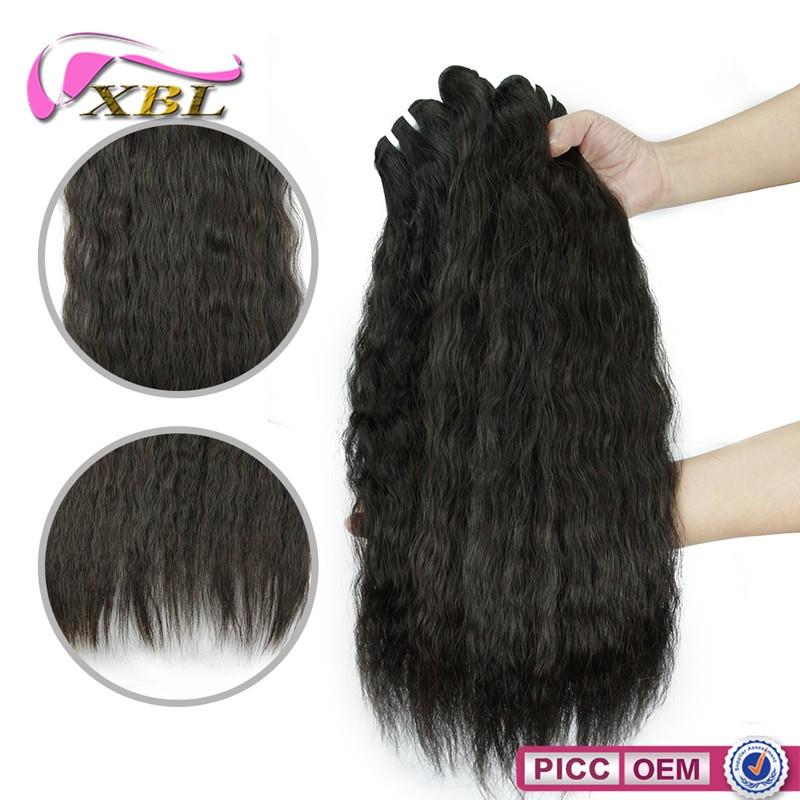 XBL 2016 nuevo estilo de pelo onda de agua virginal Mongol del pelo