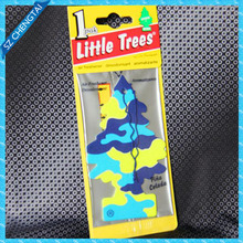 fancy hanging paper car air freshener