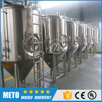 CE certificate stainless steel 304 dimple plate jacketed fermentation tank 1500L for breweries, pubs, hotels for sale