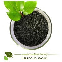 Customized humic acid price For Tobacco fertilizer