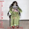 cradle murderer halloween nasty decoration props electric shock chair vibration