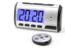 DIGITAL LED CLOCK WITH HIDDEN AUDIO/VIDEO RECORDING CAMERA