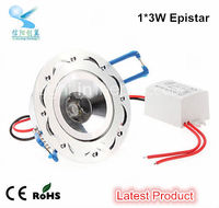 shenzhen wholesale 3w recessed led ceiling light high power led downlight