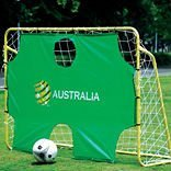 soccer goal with shooting target / portable soccer goals