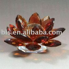crystal lotus flower craft or gifts