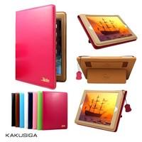 hot sale ultra-thin genuine leather hand strap case for ipad mini