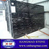Chinese black marble and gold marble