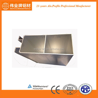 Mill finish standard aluminum alloy material sizes for industrial use