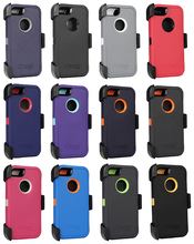 High Quality phone case for iphone 5 case defender otterboxing with tpu pc clips