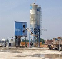 HZS90 concrete batch plant layout