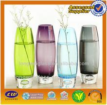2015 flower glass vase wedding decoration