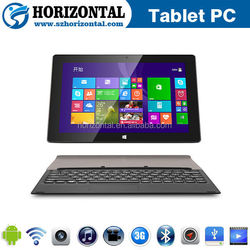 Made in China 10.1 inch windows8 tablet pc with 3g sim card slot