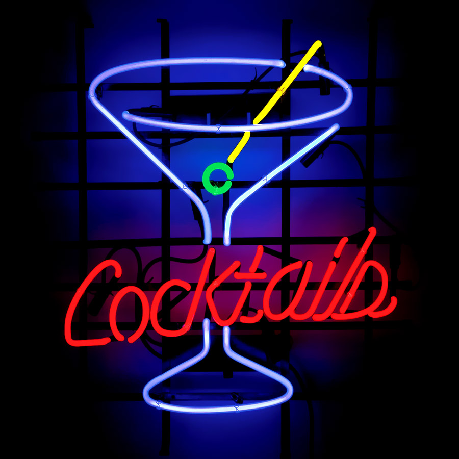Cocktails Cheap Shop Sign Lighting Neon Bar Sign For Sale