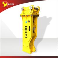 BEIYI hydraulic breaker excavator concrete road cutter