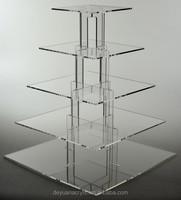 Europe acrylic cupcake stand manufacturer