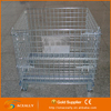 Storage Container Steel Wire Container Folding Steel Cage