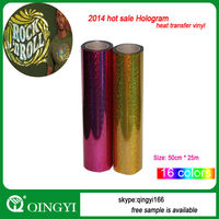 2015 hot sale laser heat transfer film for t-shirt