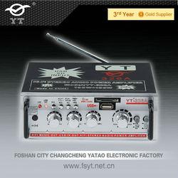 MP3/CD/VCD/DVD amplifier YT-326A with fm usb sd card radio