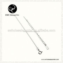 silver fashion jewelry chain necklace
