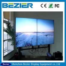 LG 42 inch small bezel led tv ultra slim bezel lcd tv walls 20mm interactive with led backlight advertising