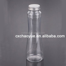 Food Grade Fruit Juice and beverage bottle with Plastic Material Clear Color and BPA Free