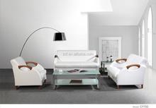 Cheap Popular Soft Wooden Sofa CY753