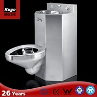 2015 Stainless Steel 304 one piece original wc