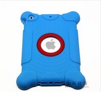 2015 lastest product waterproof cute silicone case for ipad air