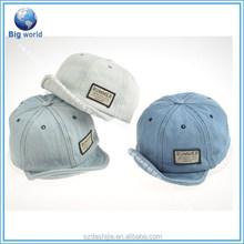 2015 Hot sale 100% cotton 6 panels custom promotional baseball cap/baby baseball cap and hat