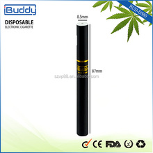 Tank based ! Bud-ds80 Built-in Lithium battery filling disposable cbd cig with 9.2mm Diameter , Similar to Real Cigarette