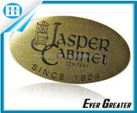 custom label badge metal name plate sticker, metal nameplate logo