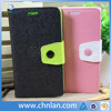 Hot selling dual color stand up flip leather case cover for samsung galaxy grand 2