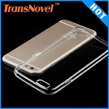 China Wholesale Ultra Thin Transparent Soft TPU Phone Case for iPhone 6 Case (4.7 inch)