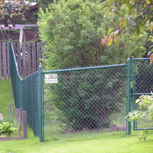 decorative garden chain link mesh fence