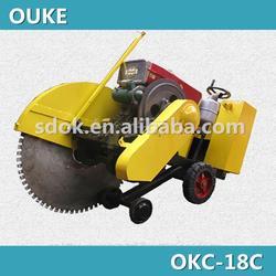 Best choice! Diesel engine concrete cutter,Cutting depth 27cm concrete saw