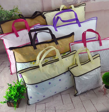 multicolor non-woven PVC pillow bag low price wholesale