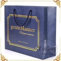 Cheap advertising tote shopping gift paper bag supplier for wholesales