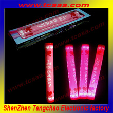 2015 new arrival customizable LED foam stick for promotional gift activity