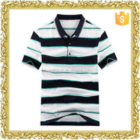 Embroidery wholesale polo-neck men's t-shirt