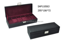 Wood watch display case and boxes for watch gift box